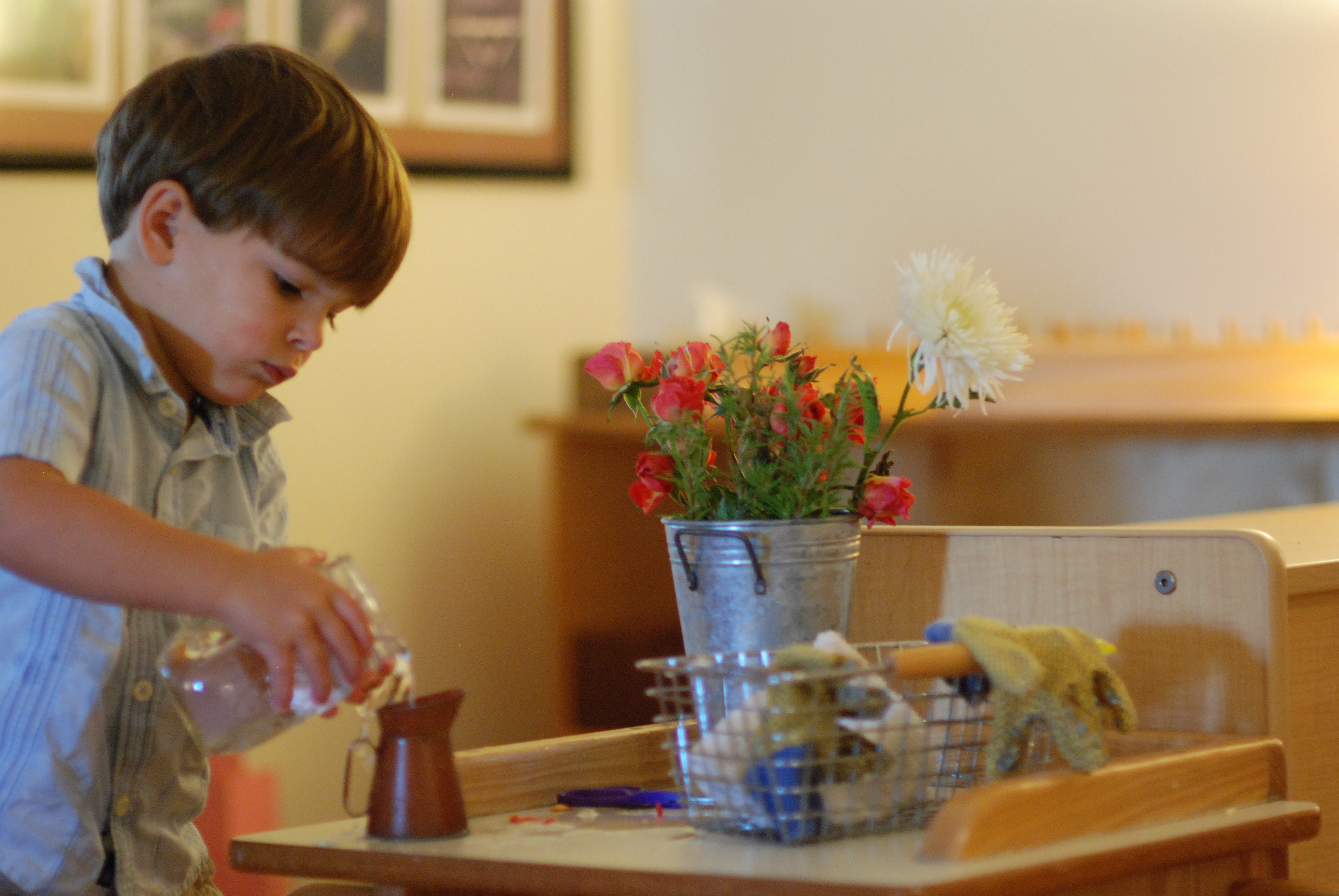 practical life area of a montessori Montessori practical life and such for the toddler  this montessori practical life space is amazing make the practical life area a kids kitchen this montessori .