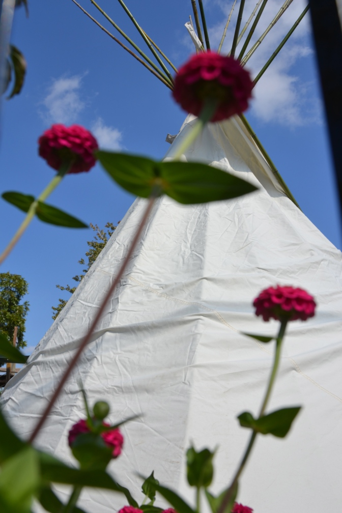 Living It – The Tipi