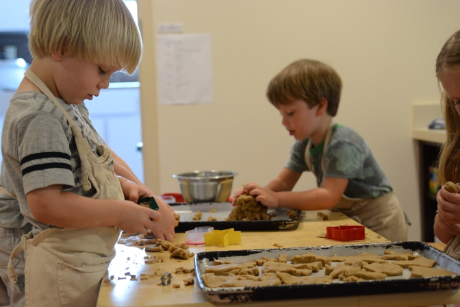 Cooking with Kids @the Center (with video)